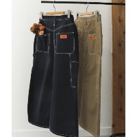 ★dポイントが貯まる★【URBAN RESEARCH DOORS(アーバンリサーチドアーズ)】UNIVERSAL OVERALL 別注PAINTER ALINE LONG SKIRT...