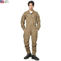 実物 新品 米軍 IMPROVED COMBAT VEHICLE CREWMEN'S カバーオール COYOTE