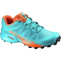 サロモン レディース ランニング スポーツ Speedcross Pro 2 Trail Running Shoe Blue Bird/Scarlet Ibis/Black