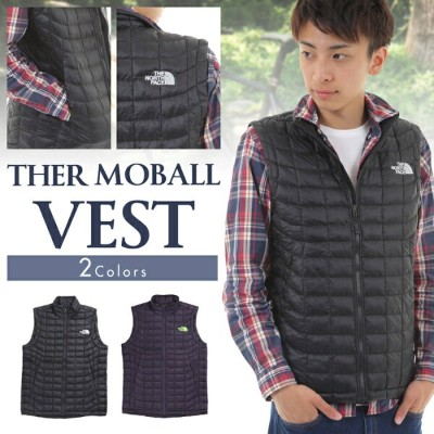 THE NORTH FACE MENS THERMOBALL VEST ザ・ノースフェイス アウター サーモボール ベスト