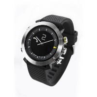COGITO Classic Smart Bluetooth Connected Watch for Smartphones - Retail Packaging - Silver Arrow by...