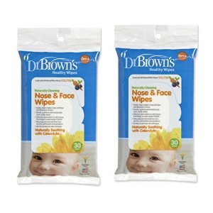 Dr. Brown's Face and Nose Wipes (2 Pack--stock up and Save) by Dr. Brown's