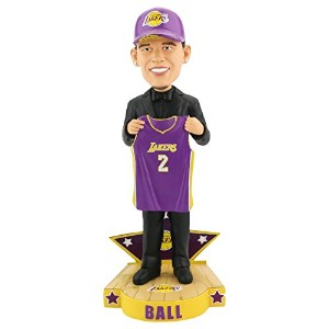 LonzoボールLos Angeles Lakers 2017NBA Draft Day Limited Edition Bobblehead