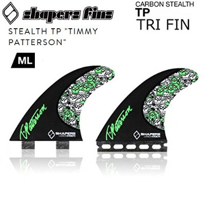 SHAPERS FIN 【シェイパーズフィン】 TP carbon stealth ML TRIフィン (FCSタイプ)