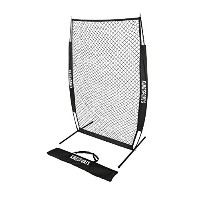 Kingsports i-screen Net、保護Baseball Net /保護ソフトボールピッチング画面with Bow Frame and Carryバッグ