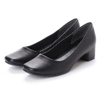 ドクター ショール Dr.Scholl Dr.Scholl Square Pumps (Black) レディース
