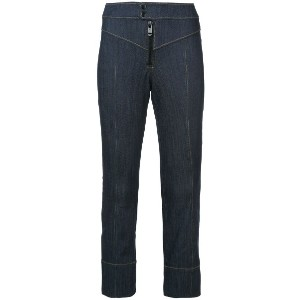 Cinq A Sept cropped bootcut jeans - ブルー