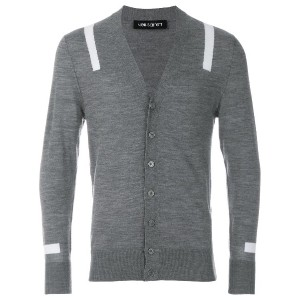 Neil Barrett classic design sweater - グレー