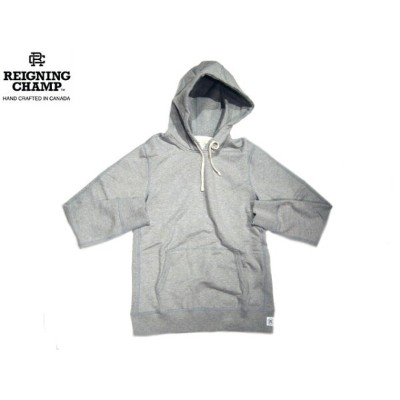REIGNING CHAMP(レイニングチャンプ)/#3206 MIDWEIGHT TERRY PULLOVER HOODY/heather grey