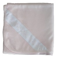 Kissy Kissy Baby Infants New Beginnings Receiving Blanket カラー: ピンク