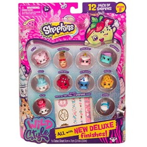 [ショップキンズ]Shopkins Season 9 Wild Style 12-Pack Set - 2 Surprise Figures 56697 [並行輸入品]