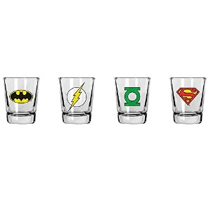 SD toys - Set 4 Verres Shooter DC Classic - 8435450201967