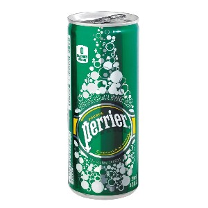 Perrier(ペリエ) プレーン 缶 330ml×24本★送料無料★