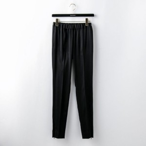 SALE【ギルドプライム(GUILD PRIME)】 【08sircus】WOMENS パンツ-stretch satin zipper pants S18SL-PT06- ブラック