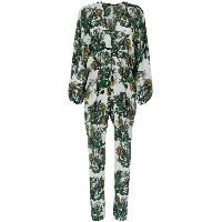 Andrea Marques wide sleeves printed jumpsuit - Unavailable