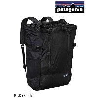 patagonia パタゴニア|Lightweight Travel Tote Pack 22L #BLK ライトウェイト・トラベル・トート・パック 22L #BLK