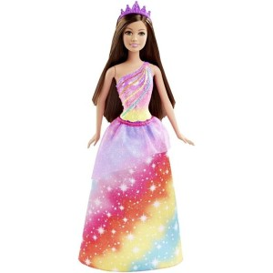 Barbie バービー Princess doll 人形 Rainbow Fashion