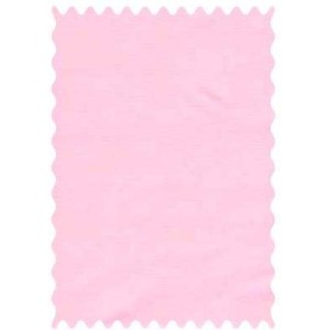 SheetWorld Solid Bubble Gum Pink Woven Fabric - By The Yard by sheetworld