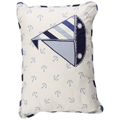 Little Sailor Dec Pillow by Bacati