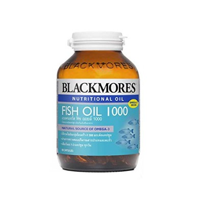 Blackmores 魚油1000mg 80カプセル。オーストラリア製 With 1 pc Premium Souvenir Keychain Thai