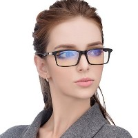 Jimmy Orange Anti Glare Tinted Womens Blue Light Blocking Mens Computer Glasses Eye Strain Readers...