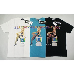 HYSTERIC GLAMOURヒステリックグラマー×PLAYBOY APRIL 1996 COVER pt T-SH(12181CT04)