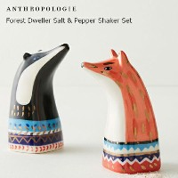 ANTHROPOLOGIE アンソロポロジー 塩・胡椒入れ2個セット Forest Dweller Salt & Pepper Shaker Set  ソルト&ペッパー2個セット