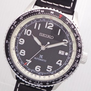 SEIKO PROSPEX AUTOMATIC WATER RESISTANT 10BAR Date Watch【SRPB61K1】逆輸入セイコー プロスペックス 自動巻き 100防水ダイバー...