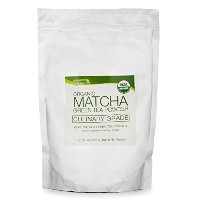 Matcha Green Tea Powder 16 oz (1 lb) bag of loose tea -USDA ORGANIC by matchaDNA