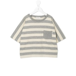Fith ボーダーTシャツ - グレー
