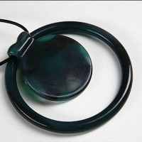 Dr. Bloom's Chewable Jewels Bracelet and Necklace with Circle Slide, Deep Sea Blue by Dr. Bloom's...