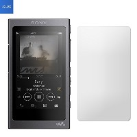 JGLASS Sony Walkman NW-A40 / NW-A30 シリーズ フィルム nw-a30 ガラスフィルム 液晶保護フィルム 気泡防止 指紋防止 硬度9H級 0.33mm (SONY...