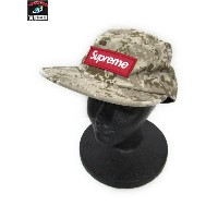 Supreme 17AW NYCO Twill Camp Cap【中古】