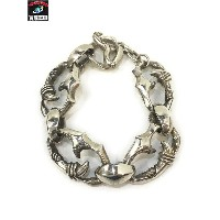 FULL METAL BOX claw BRACELET【中古】[値下]
