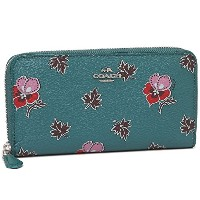 コーチ 財布 アウトレット COACH F15155 SVCEH ACCORDION ZIP WALLET IN WILDFLOWER PRINT COATED CANVAS レディース 長財布...