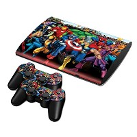 Zhhmeiruian 保護 フィルム ステッカー デコ Full Body Vinyl スキンシール Decal Sticker Cover for PS3 PlayStation Super...
