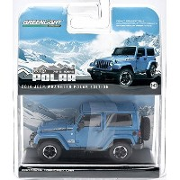 おもちゃ 2014 jeep ジープ Wrangler Polar Limited Edition 限定版 Hydro Blue In a Blister Pack 1/43 by...