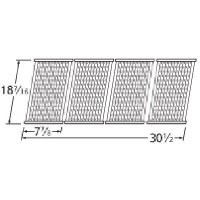 Stamped Stainless Steel Cooking Grid Replacement for Select Charbroil Gas Grill Models, Set of 4 ...