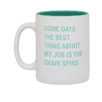 """"""" The Chair Spins """" 13.5ozコーヒーマグ"""