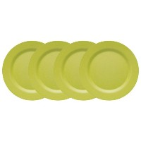 Now Designs Ecologie Dinner Plates, Cactus Green, Set of 4 by Now Designs