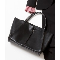 ICB  Leather Tote バッグ(BO3MYM0210) クロ 【三越・伊勢丹/公式】 バッグ~~ハンドバッグ