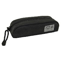 米国 Rough Enough Military  Raw Pencil Case キャンバス 高耐久性  ペンケース (Stone Black)