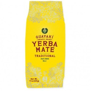 Guayaki Traditional Organic Mate Tea, 7.8oz (225g), 75 Tea Bags by Guayaki