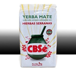 Tea Stop - Herbal Tea - CBSe Yerba Mate con Hierbas Serranas, 1 Kilo by CBSe