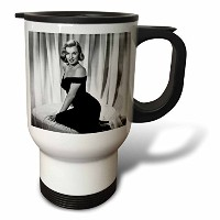 FabPeople–Arts and Entertainment–マリリンモンローin theアスファルトジャングル( 1950年) ( PD - US )–Travel Mug 14...