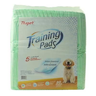 High quality Puppy Pads Super Absorbent Leak-proof 80 Count Dog Pee Training Pads 22x23 inch