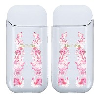 STRIPE FLOWER CL AL-0040-IQOS PINK