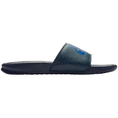 (取寄)ナイキ メンズ サンダル ベナッシ JDI スライド Nike Men's Benassi JDI Slide Obsidian Deep Royal Blue Deep Jungle