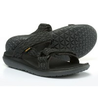 (取寄)テバ メンズ Terra-Floatスライド サンダル Teva Men's Terra-Float Slide Sandals Black
