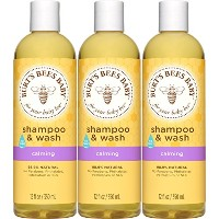 Burt's Bees Baby Bee Shampoo and Wash, Calming, 12 Fluid Ounces (Pack of 3) by Burt's Bees